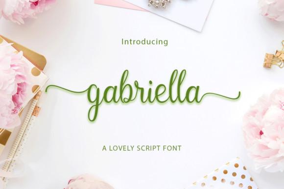 Gabriella by Ator Type 580x386 - Jenis Font Yang Bagus Untuk Banner