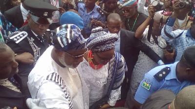Tinubu, Yahaya Bello, Fayose attend Akeredolu's swearing in as Ondo Governor