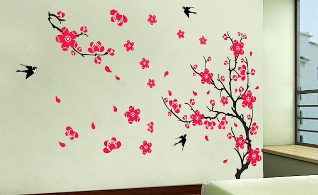 Flowers on The Wall 3