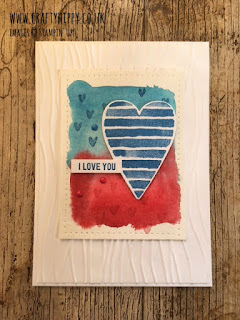 Create this Heart Happiness Card by Stampin' Up!