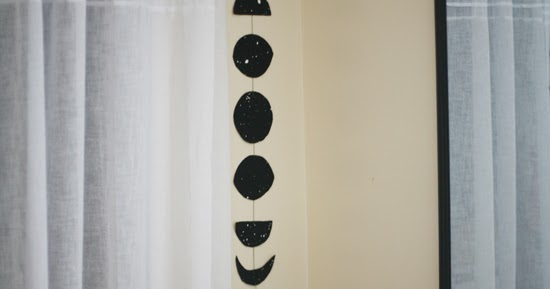 Hello Grey Boy Diy Moon Phases Mobile