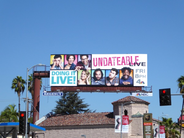 Undateable season 3 Doing it live billboard