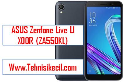 Cara Flashing ASUS Zenfone Live L1 (ZA550KL) Via QFIL Dengan Mudah Tested 100% Work