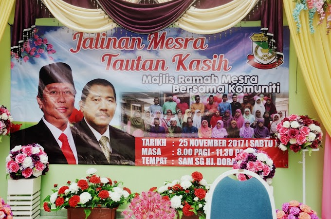 Majlis Jalinan Mesra Tautan Kasih SAM Sungai Haji Dorani