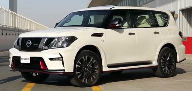 2018 Nissan Patrol Exterior