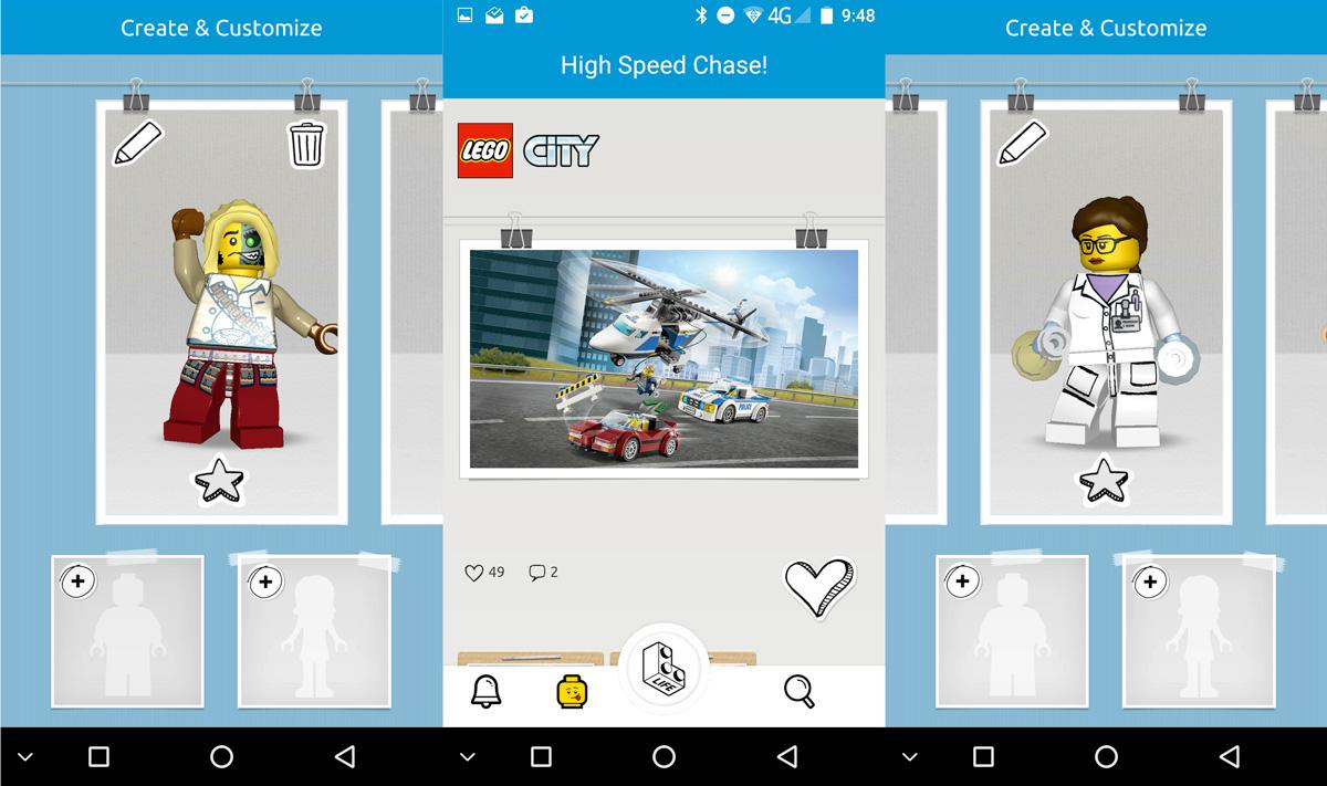 LEGO lanza red social para los niños compatible con android