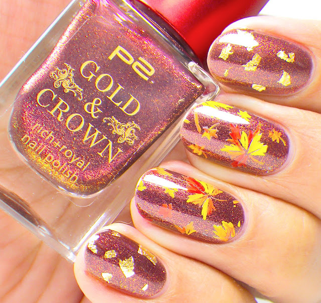 Maple Tree Leaves - Fall Nail Art
