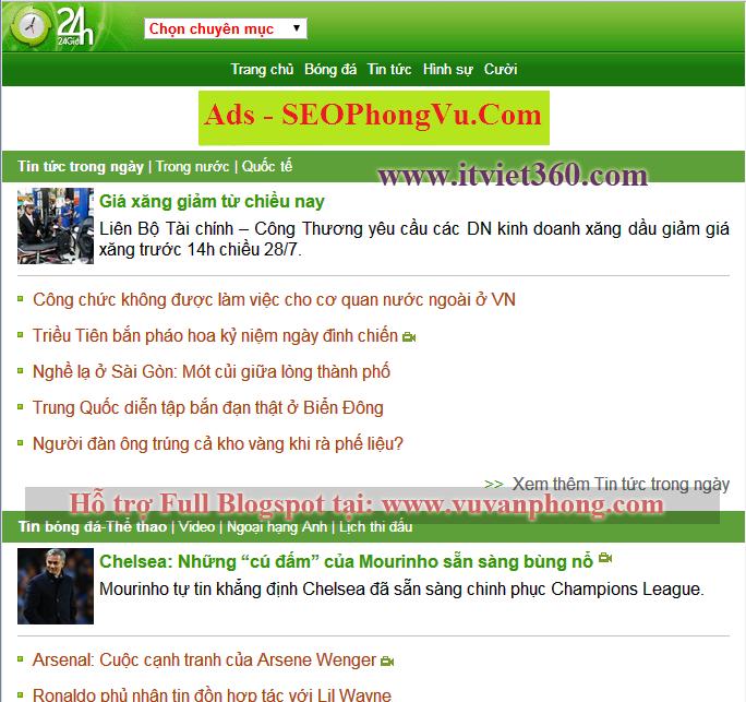 Share Template mobile Blogspot - cho Blogger chuyên mảng di động