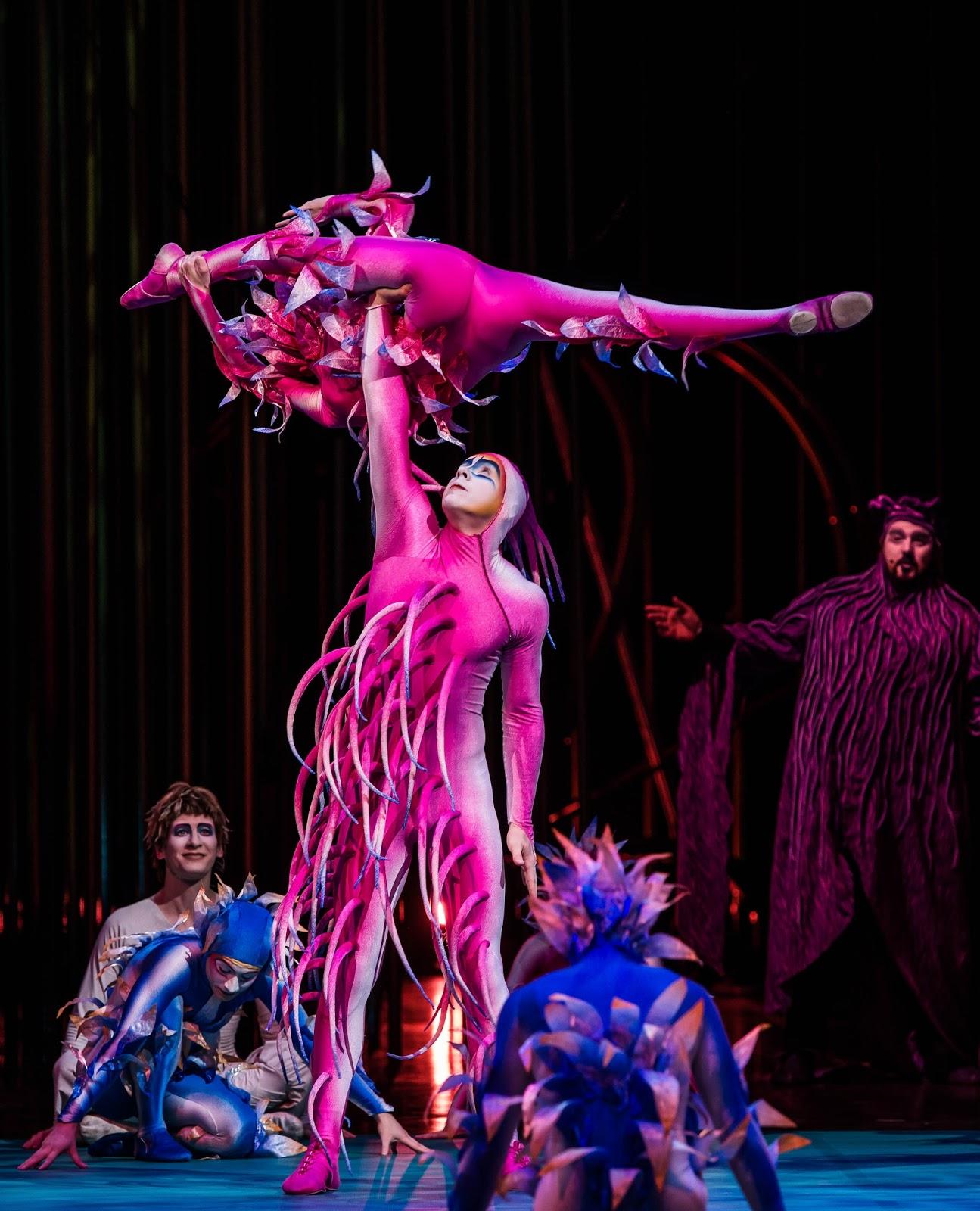 Cirque du Soleil Varekai | Newcastle Review & Tickets  - performers