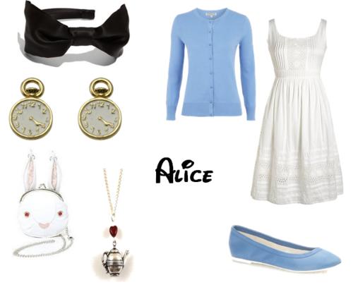 alice in wonderland costume tumblr