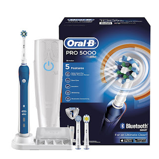 Hot UKDeals Dentalcare Removes 100% more plaque – 74% OFF for Oral B Pro 5000 Cross electric toothbrushes £44.99 – SaturdayDeals 25 March 2017 exp 23:59