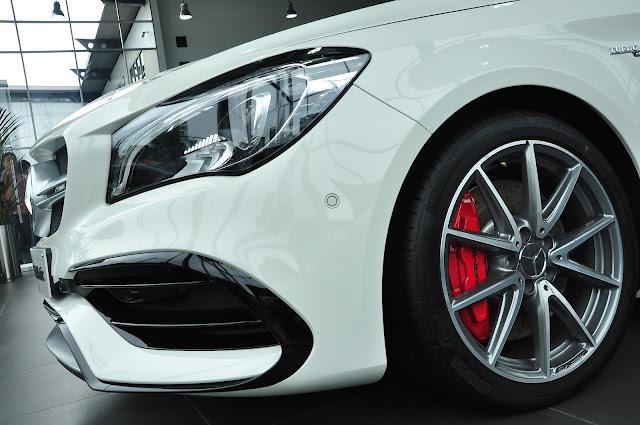 Bộ mâm xe Mercedes AMG CLA 45 4MATIC 18 inch 5 chấu kép