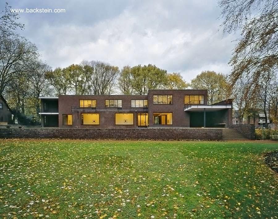 Casa residencial racionalista de Alemania años 20