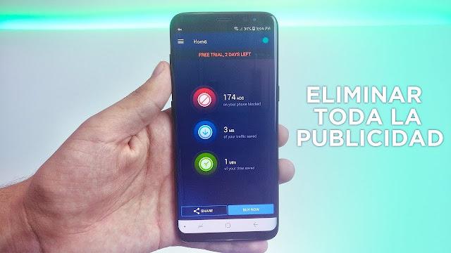 aplicacion para eliminar la publicidad en 1 minuto
