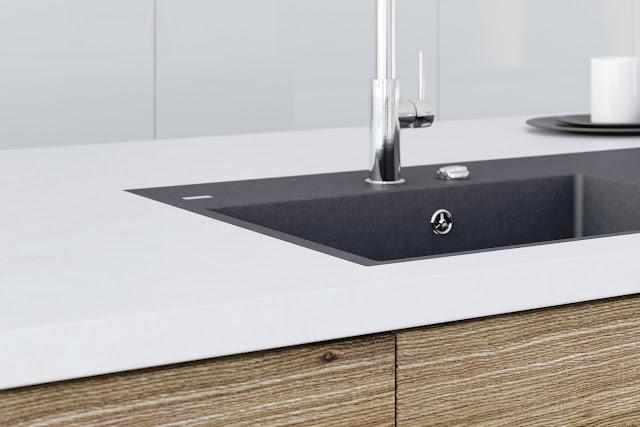 Chiuveta de bucătărie granit compozit Ivo