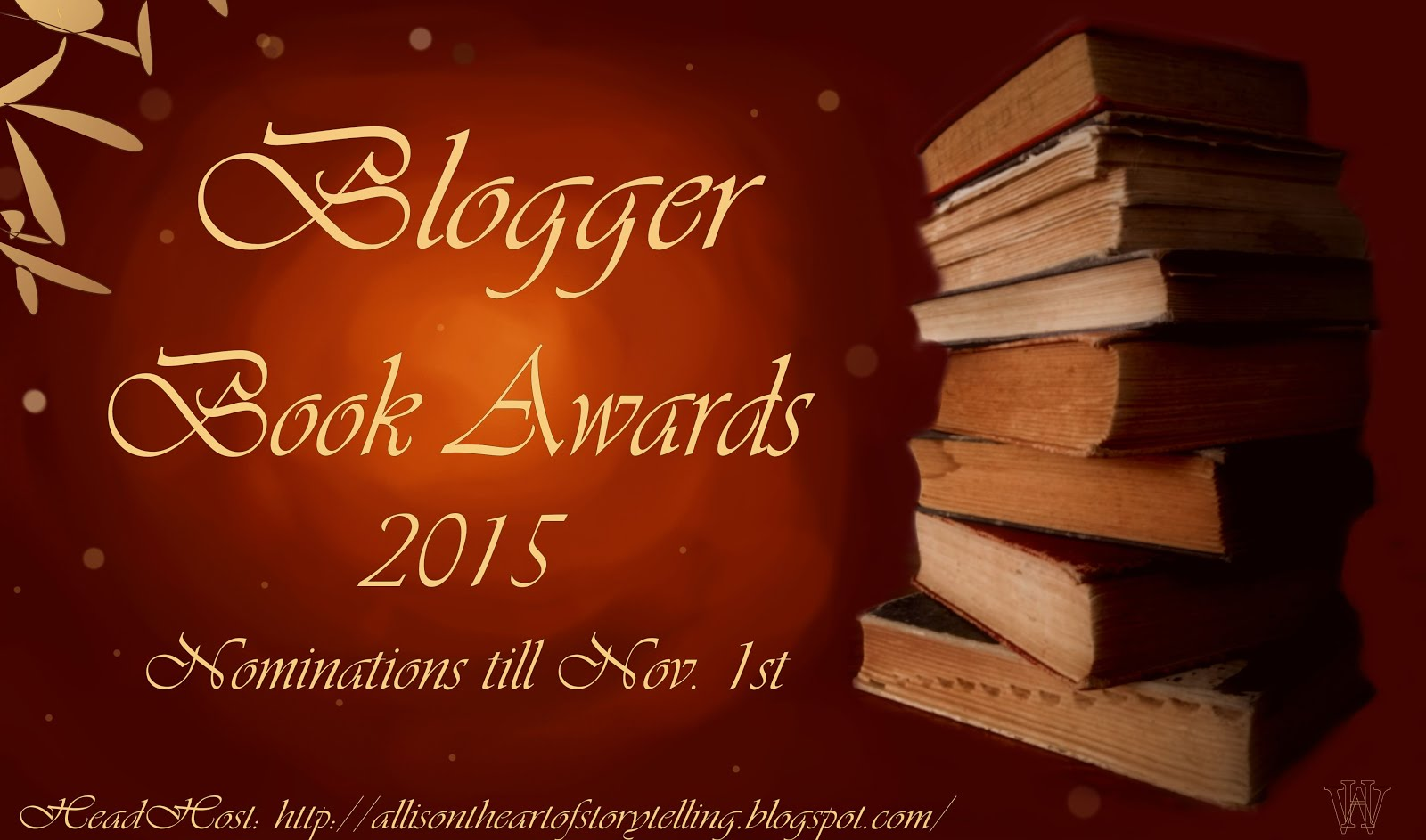 2015 Blogger Awards!