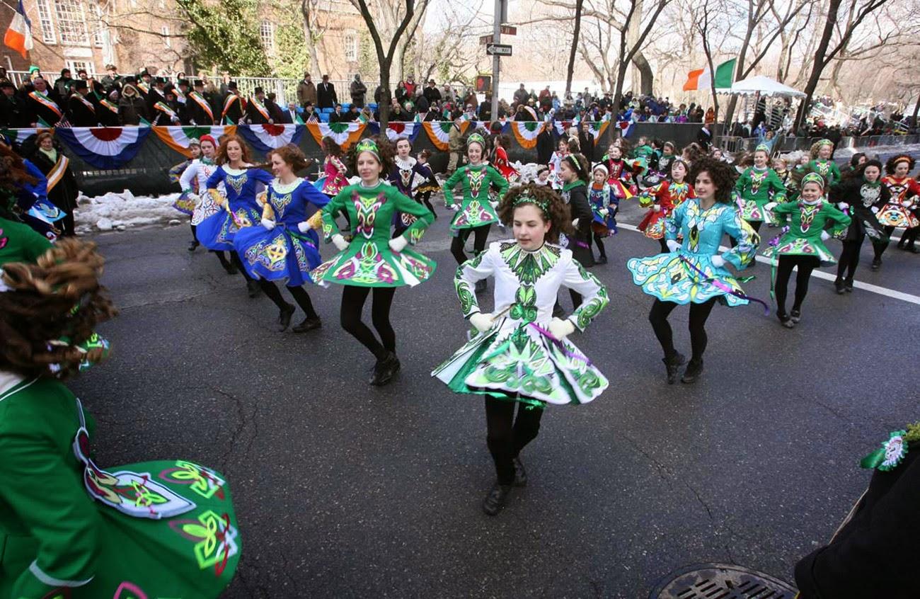 Desfile Patrick's Day Parade em Nova York
