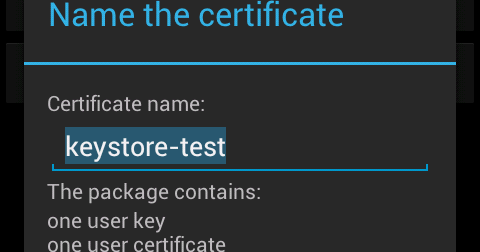 Using the ICS KeyChain API