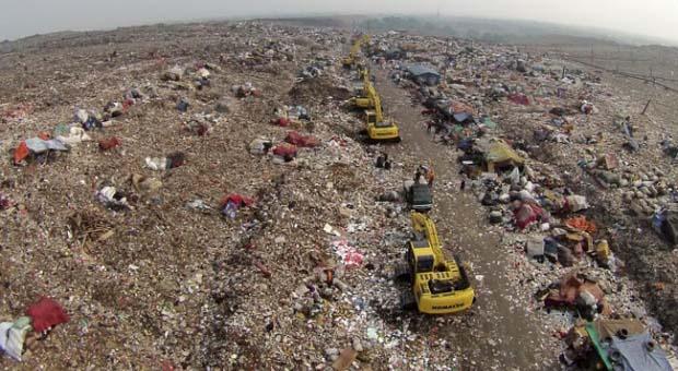 Sampah Rumah Tangga Kota Bekasi Jadi 900 Ton Per Hari