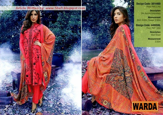 Warda Winter Collection 2014-2015 Vol-2
