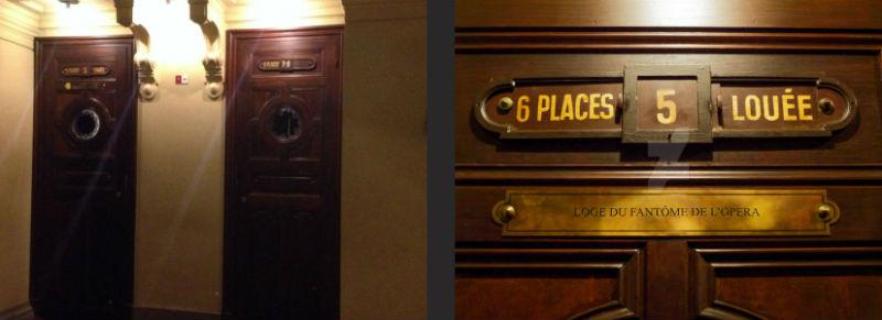 Puerta del Palco Nº5 de la Ópera Garnier