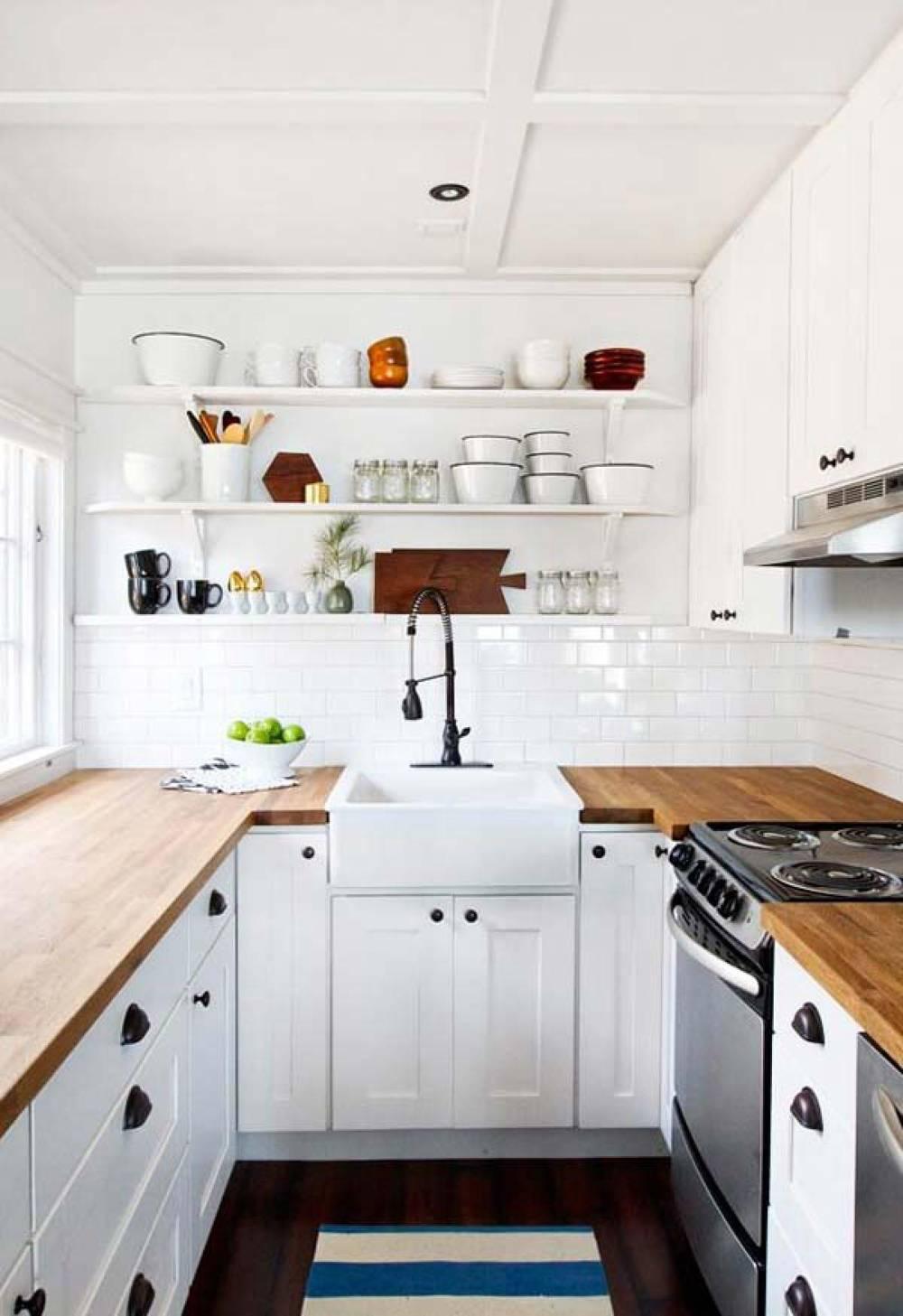 Cocinas peque as modernas y funcionales revista - Cocinas pequenas y modernas ...