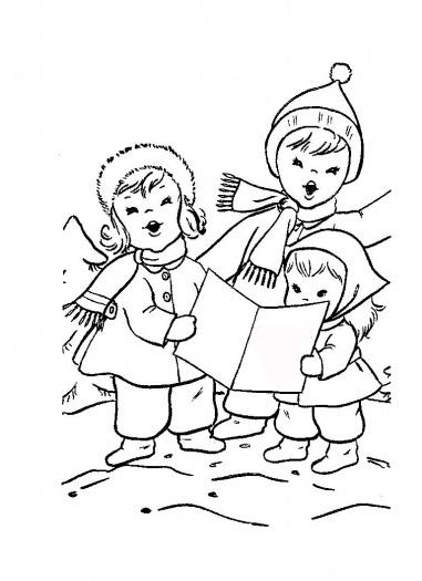 Universul Copiilor Desene De Colorat La Colindat