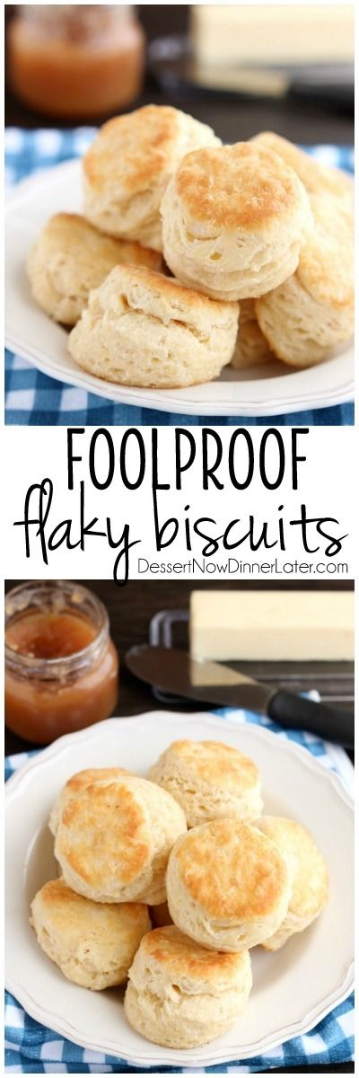 Foolproof Flaky Biscuits Recipe