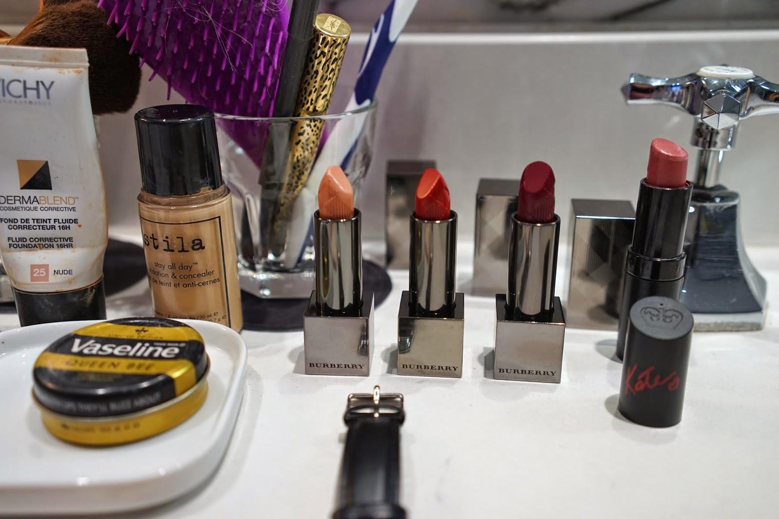 Burberry kisses lipsticks