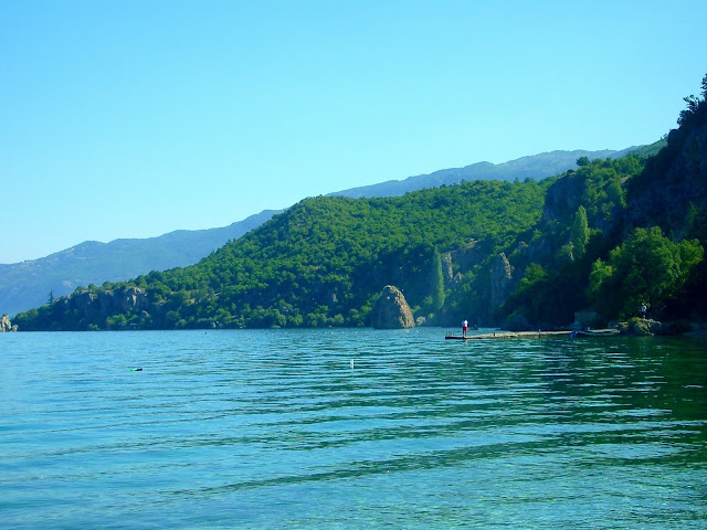 Ohrid Lake, Trpejca, Macedonia