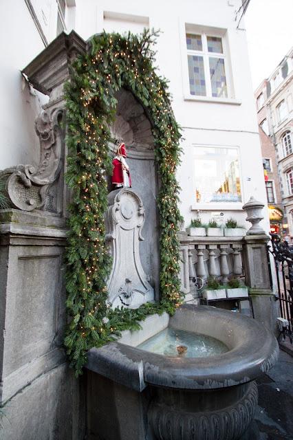 Statua del Manneken Pis-Bruxelles