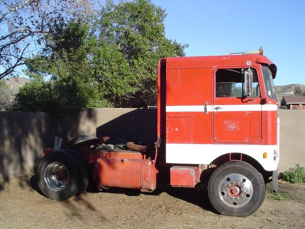 1960 Kenworth K523 Cab Over Tractor Truck - Old Truck