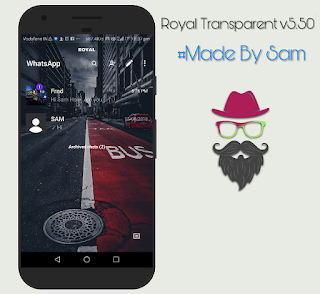 Transparent Royal WhatsApp v5.50