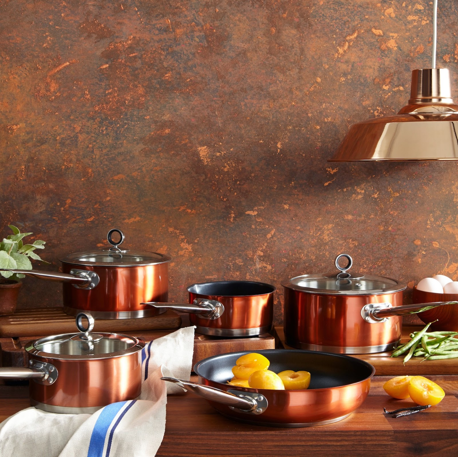 Copper Kitchen Accessories - Karen Barlow