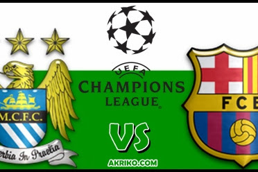 Big Match Manchester City vs Barcelona