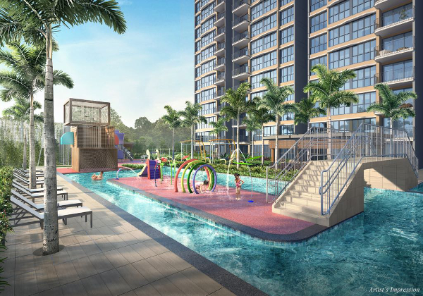 Hundred Palms Residences Kids Pool