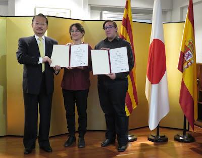 Marta Salmons y Mijail Sampedro ganan el Bronze Award con el cómic  A través del Khamsin.
