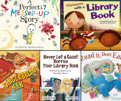 Picture books to teach library rules and behavior