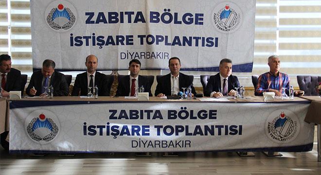 Zabıta Teşkilatı Federasyonu, Diyarbakır'da Zabıta Bölge Toplantısı düzenledi
