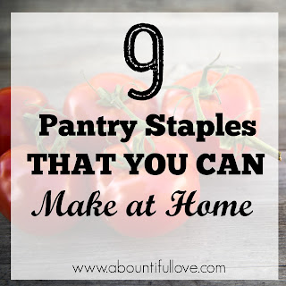 Homemade Pantry Staples