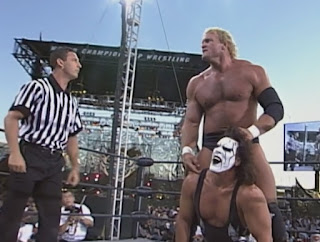 WCW Road Wild 1999 - Sid Vicious faced Sting
