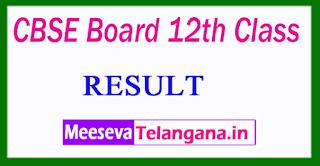 CBSE Board 12th Class Results 2017
