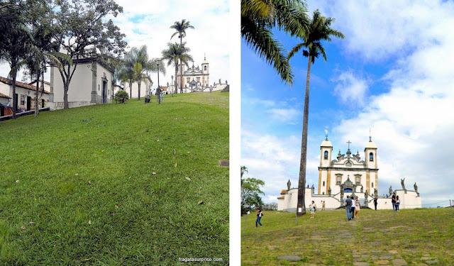 Obras de Aleijadinho em Congonhas do Campo, Minas Gerais