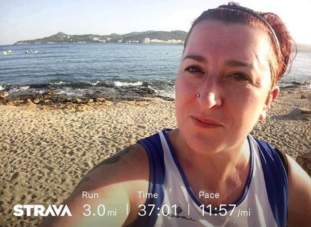 The October Run Down - running in Ibiza