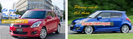 Hỗ trợ 30 triệu trước bạ khi mua Suzuki Swift