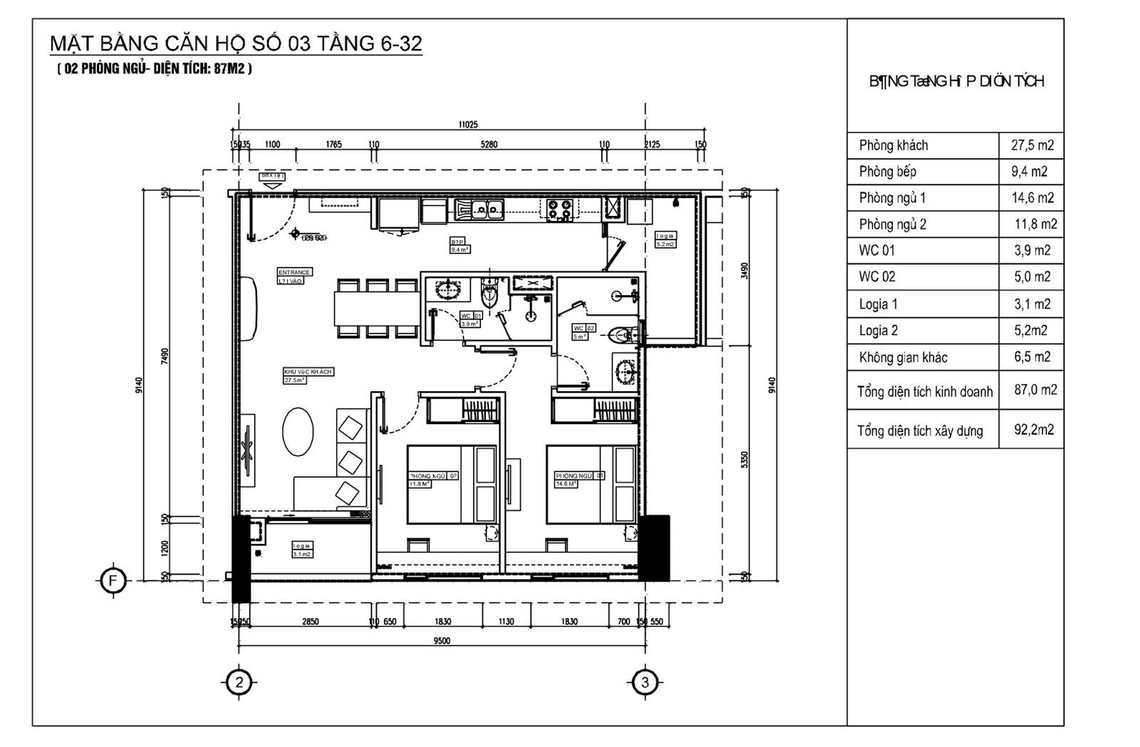 Căn 03 Chung cư Phú Mỹ Complex - N01T4 Ngoại Giao Đoàn