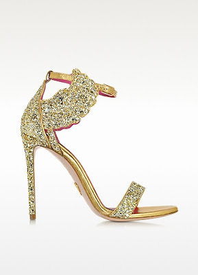oscar tiye glitter high heeled sandals malikah