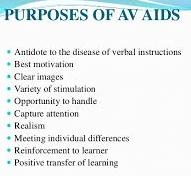 Basic Purposes of Using Audio Visual Aids | Effective and
