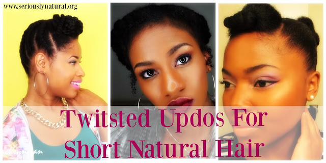 Q Hairstyles For Short Hair: Easy Short Natural Styles