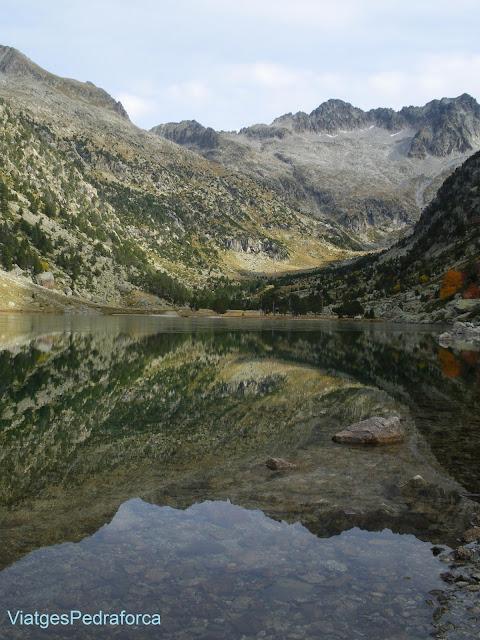 Estanya de Besiberri, Alta Ribagorça, Parc nacional d'Aigüestortes, Lleida, Catalunya, Pirineus Catalans